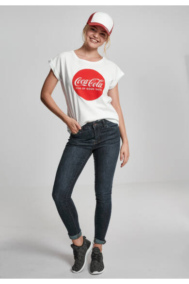 Coca Cola nyomott mintás női divat póló