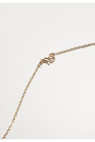 arany színű nyaklánc