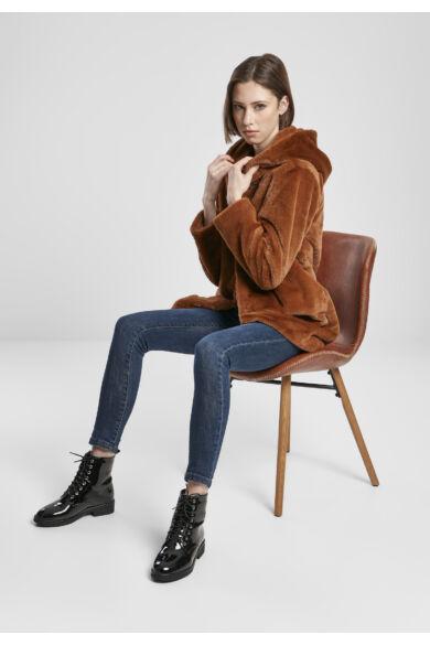 Női műszőrme kabát