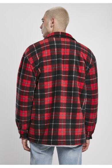 Férfi kockás kabát