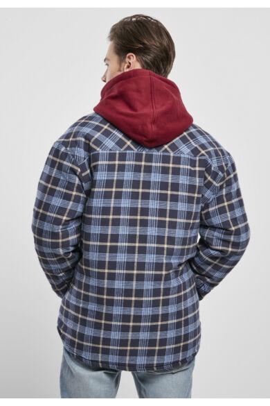 divatos kockás dzseki, flanel kabát, sherpa béléses dzseki,