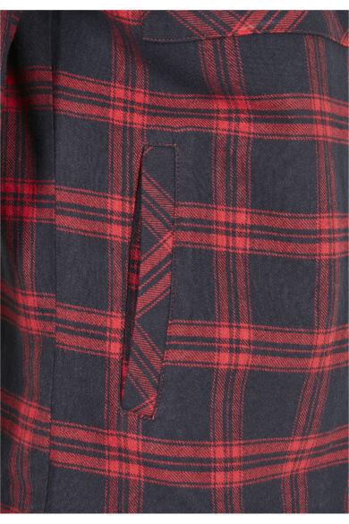 kockás női ing