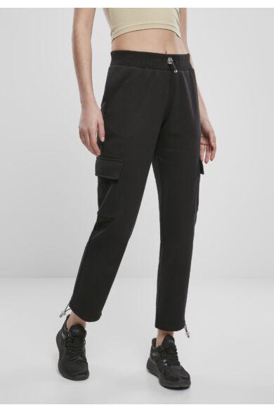 Női fekete szabadidő nadrág