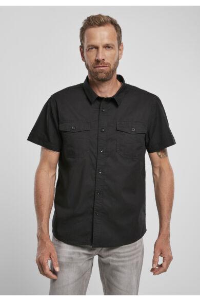 fekete férfi ing