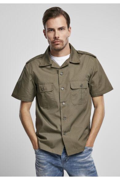 divatos rövid ujjú férfi ing