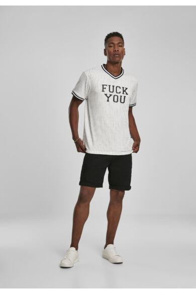 fuck you férfi póló