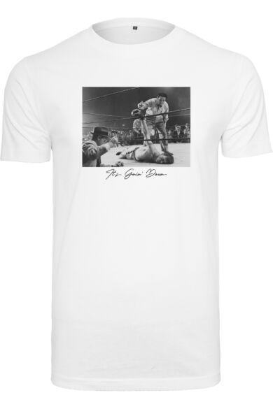nyomott mintás férfi póló