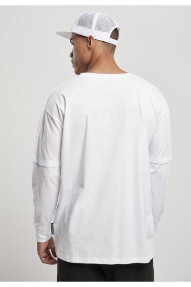 dupla ujjas férfi póló