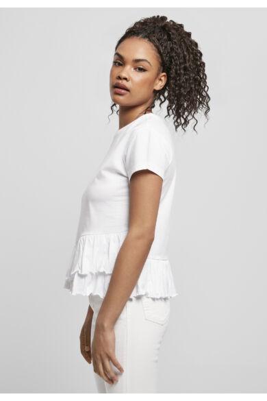 organikus pamut női divatos póló