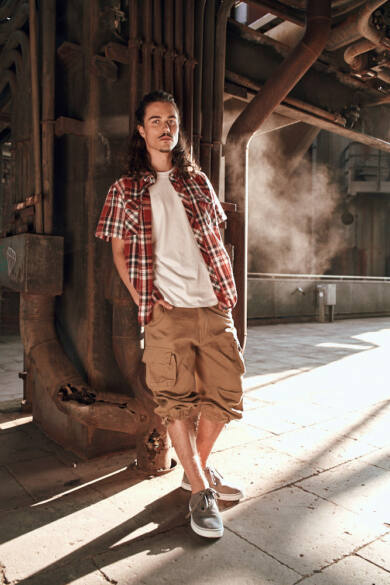 férfi vintage nadrág