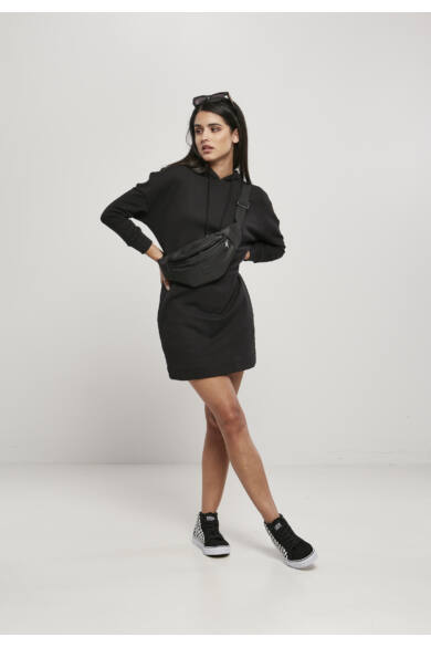 organikus pamut kapucnis női ruha