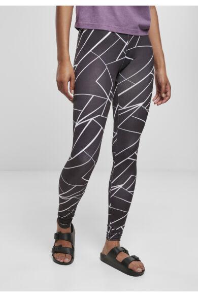 mintás divatos leggings