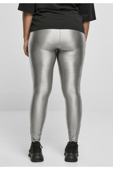 metál színű leggings