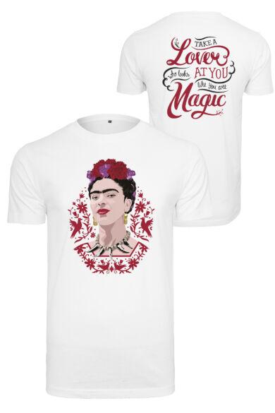 Frida Kahlo mintás női póló