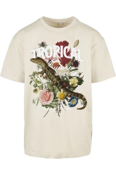 Tropical mintás póló