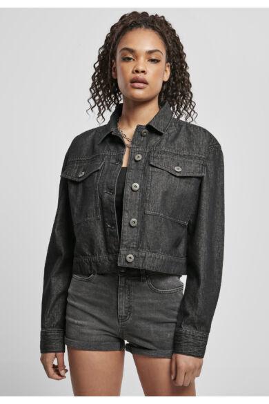 divatos női farmer dzseki
