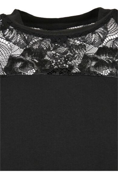 női csipkés póló