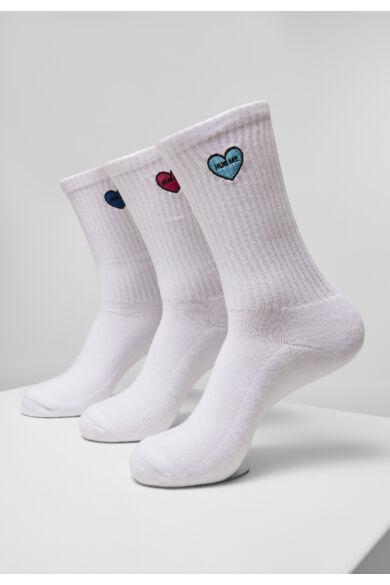 3db-os divatos hímzett zokni csomag
