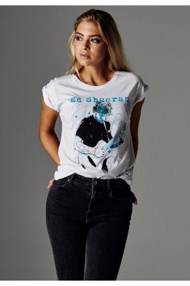 Ed Sheeran női póló