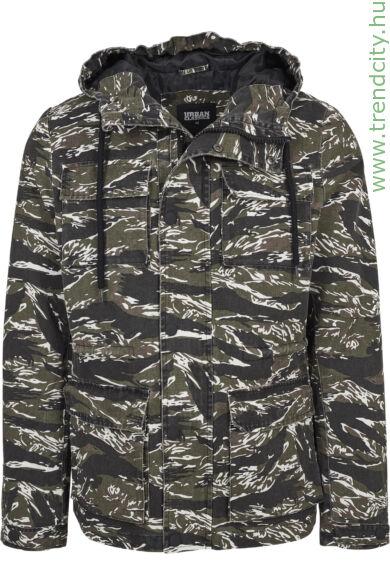 terepmintás kabát