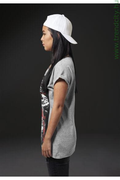 szürke női póló
