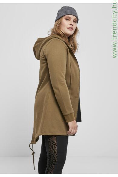 női kapucnis kabát