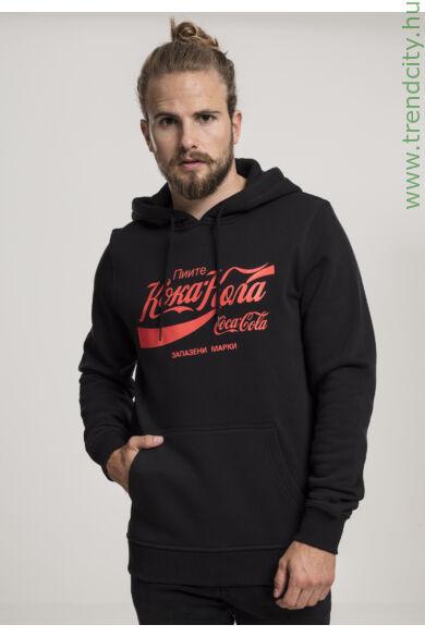 Coca Cola kapucnis pulóver