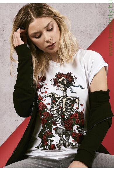 Női mintás póló
