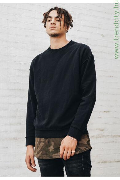 Férfi bő szabású pulóver